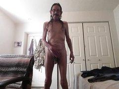 Smoking nudist
