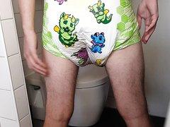 Little rascals big diaper mess