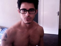 Muscle Stud with Glasses
