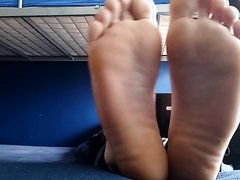 Guy showing his sexy soles