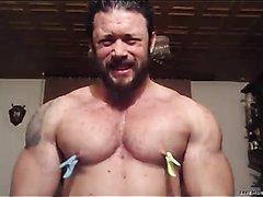 Huge Muscle Nipple torture