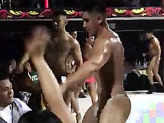 Men's Contest In Thong - video 2