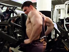 Young Bodybuilder Trained