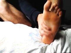 Foot domination - verbal