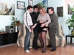 Italian bear enjoying a quartet