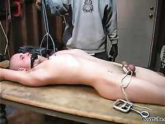 slave abused on the table