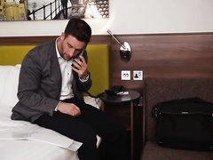 Hotel room service hypnosis