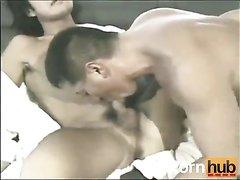 2 Japanese daddies fucking and worshipping