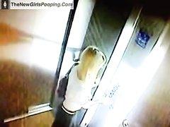 Poop in an elevator