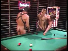 vintage - pool room trio
