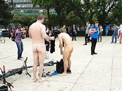 Naked people in Mexico...
