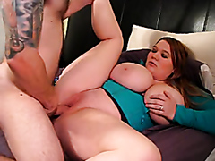 Fat busty slut fucked hard
