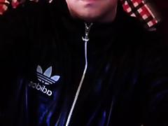 Cute Adidas Lad Farting Hard