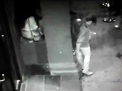 DM, Girl Poops In Her Hand Outside A Nightclub
