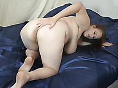 Fat wife gets a massive anal creampie