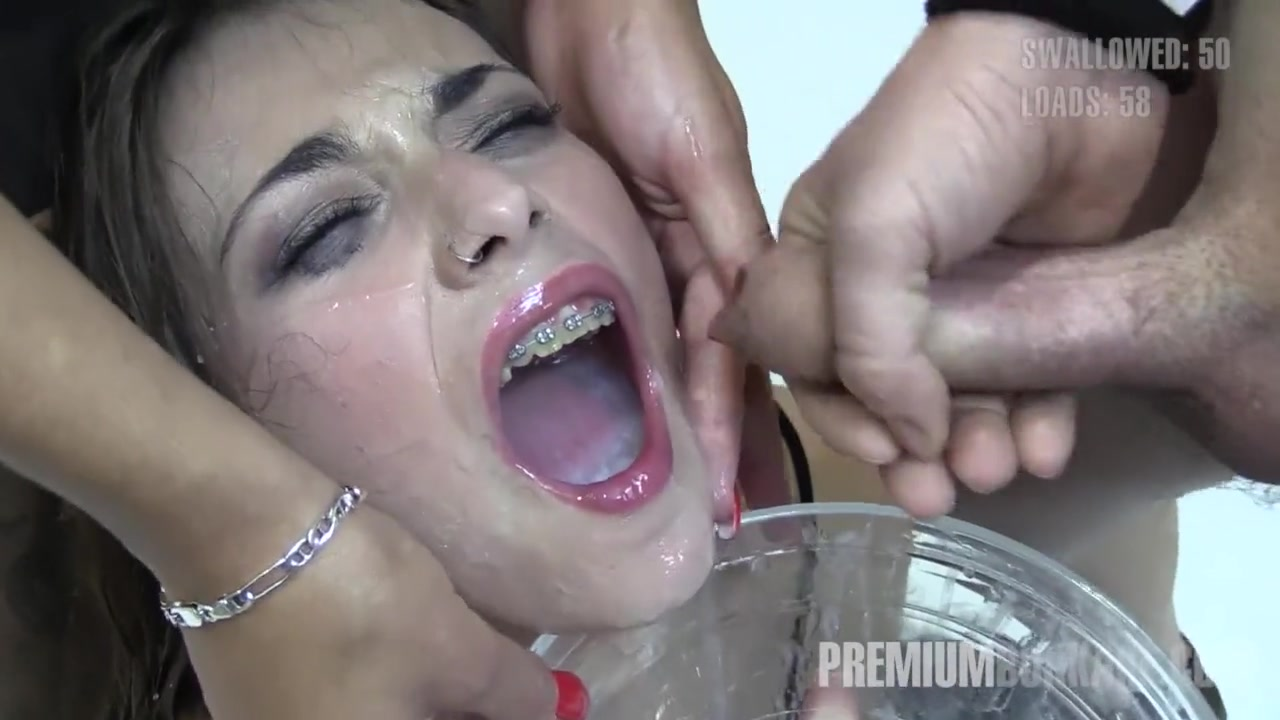 Forced swallow cum