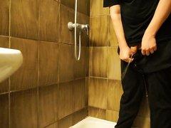 Pissing in sweatpants - Male
