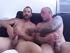Married gay couple on cam