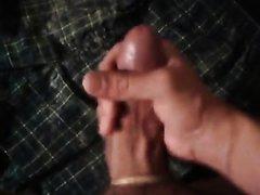Super Verbal Guy Jerks, Moans, Cums