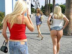 Cali Girls taking in some sun