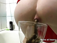Shitting In A Glass