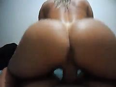 POV of a hot ass riding a dick