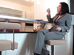 Stunning milf makes a cock cum hard every time