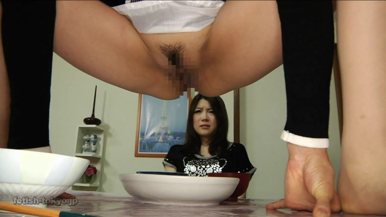 Porn Eating On Floor daughter forced to eat her mother's feces part 1! - scat
