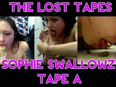 """THE LOST TAPES by Artsy Pourn - SOPHIE SWALLOWZ - TAPE """"A"""" - FULL Video"""
