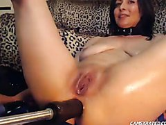 Anal FuckMachine and Squirt