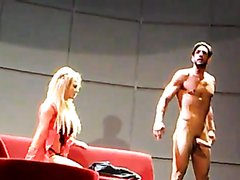 Joaquín Ferreira Full Frontal (Erection) in a Stage Play