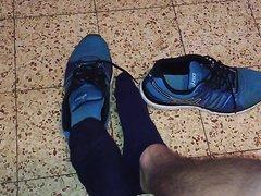 My Blue Stinky Sweaty socks