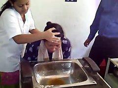 Indian Women Puke For Health