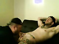 2 - Straight ex-con and his gay friend on cam