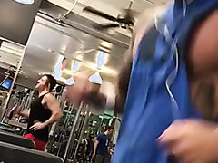 Running at the gym
