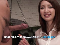 Rikka Anna amazing asian blowjob with sensual  - More at j....net