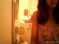 diarrhea girl and spy camera
