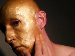 Gold Body Paint, SFW