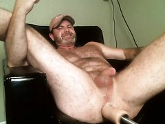 Curious dilf farmer likes it thick and rough in his ass