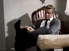 Telephoning Black dress socks