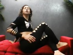 Girl Farting in leggings