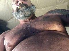 bear dad smoke and stroke