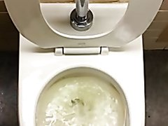 He had to pee so bad!