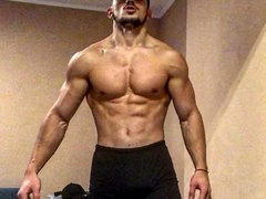 ATHLETIC BULGARIAN MUSCLE