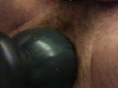 Inflatable Dildo Shitty Pull Out