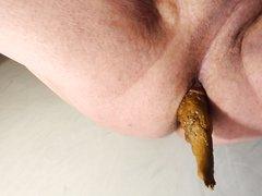 close up poop - video 2