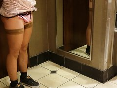 CROSSDRESSER SHEMALE SCAT, Asian sissy CD pooping