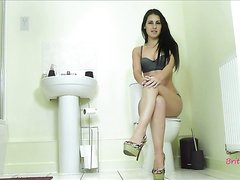 British Misstress's Toilet Slave