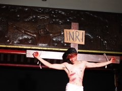 CHINESE HUNK CRUCIFIXION B : The Crucifixion