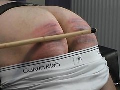 Hard caning - video 2
